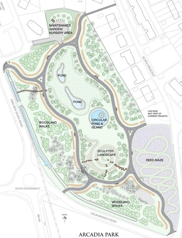 Arcadia-park-map