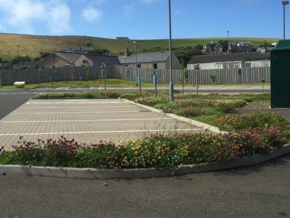 Stromness Primary School car park